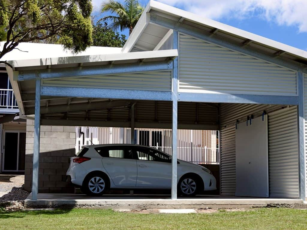 Allcover Skillion Roof Carport