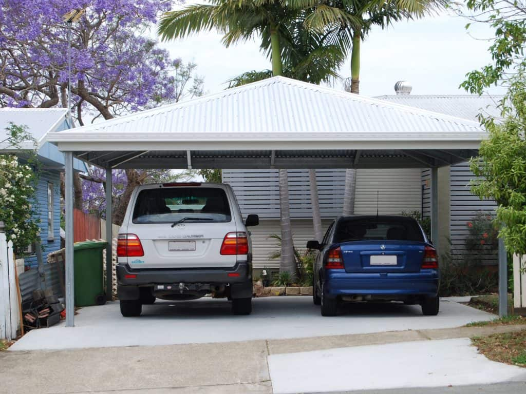 Hip Roof Carports