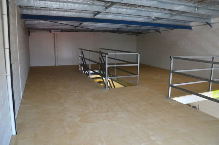Mezzanines Floor Layout