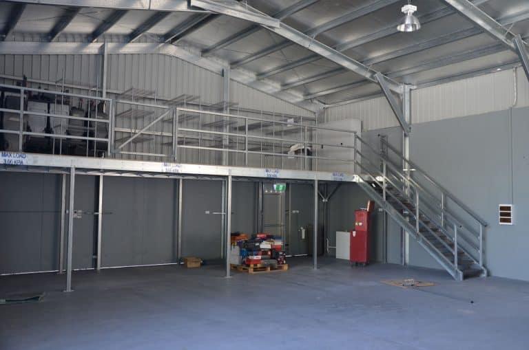 Mezzanine Increased Floor Space